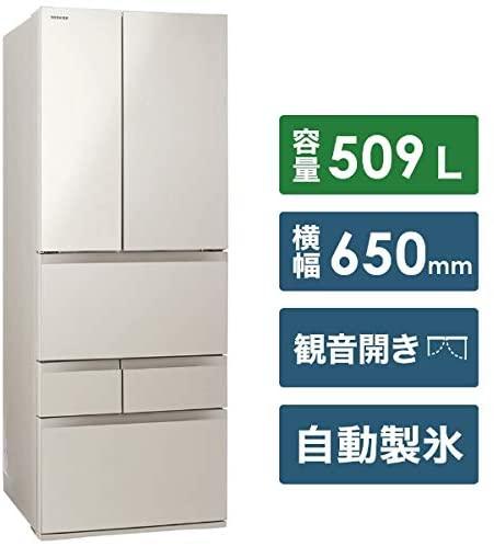 東芝(TOSHIBA) ベジータ 6ドア GR-S510FKの商品画像