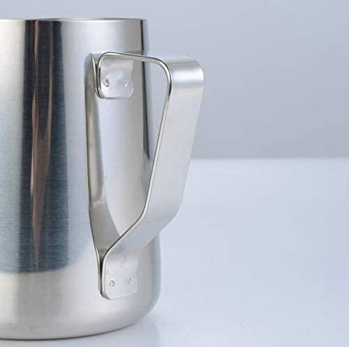 Drawihi(ドラウィヒ)ステンレス製 ミルクジャグ 350ml シルバーの商品画像6