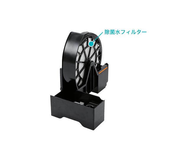 SiRiUS(シリウス) 次亜塩素酸空気清浄機 ウイルスウォッシャー SVW-AQA2000(S)の商品画像5