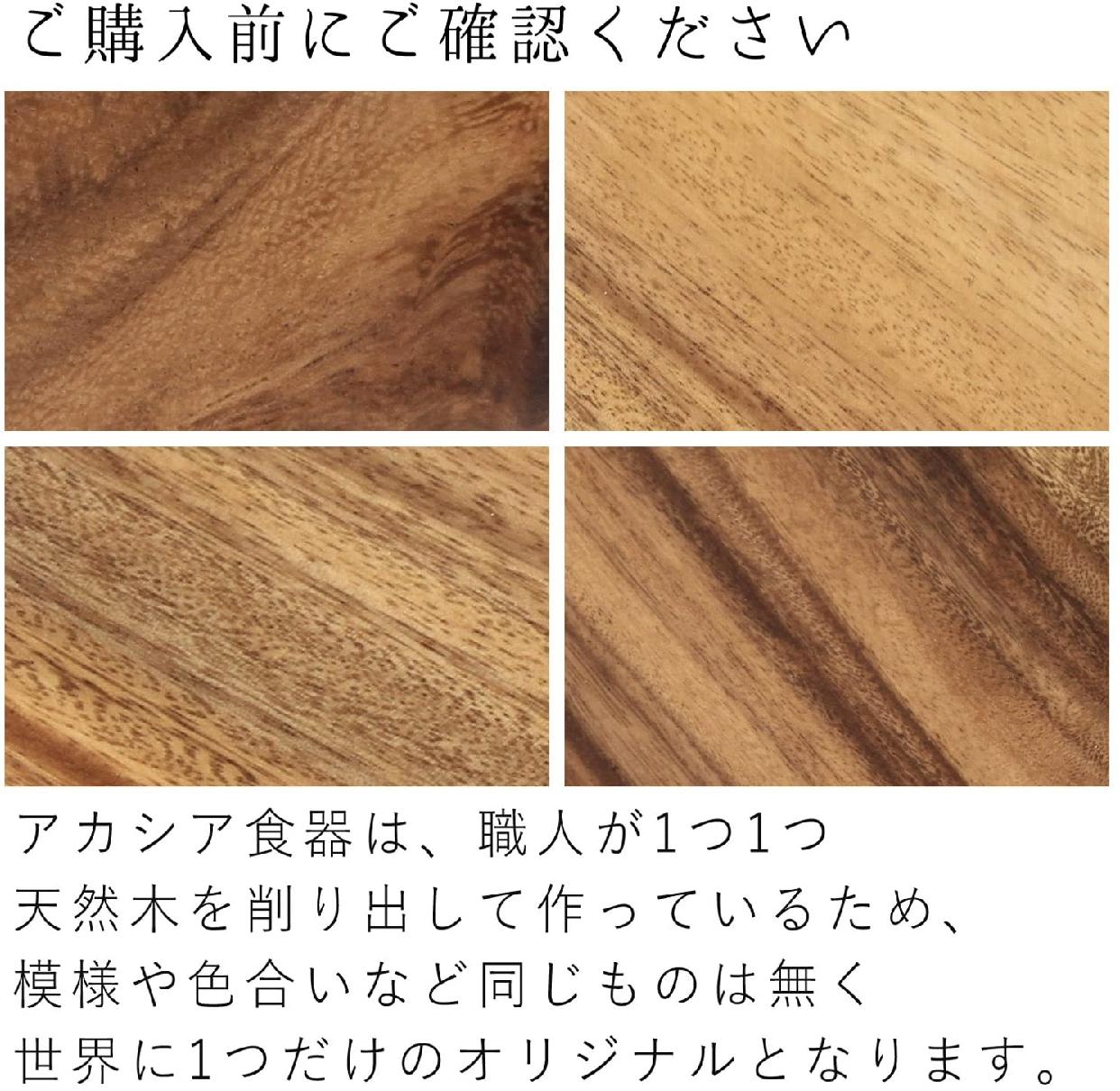 不二貿易(ふじぼうえき)アカシアレクタングルトレー XLの商品画像4