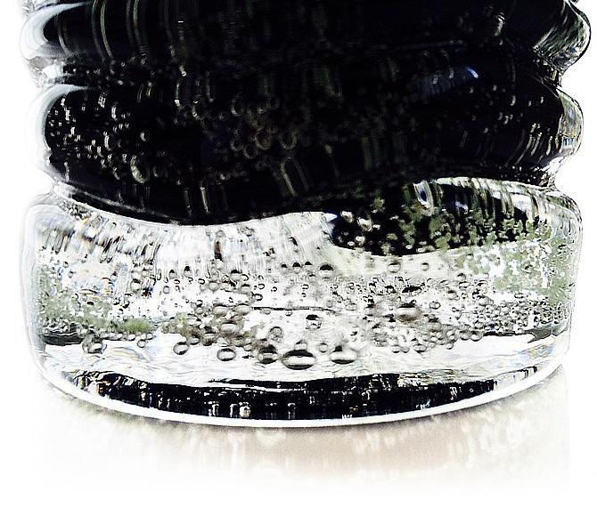 くば笠屋(くばがさや)黒紫泡グラスの商品画像11
