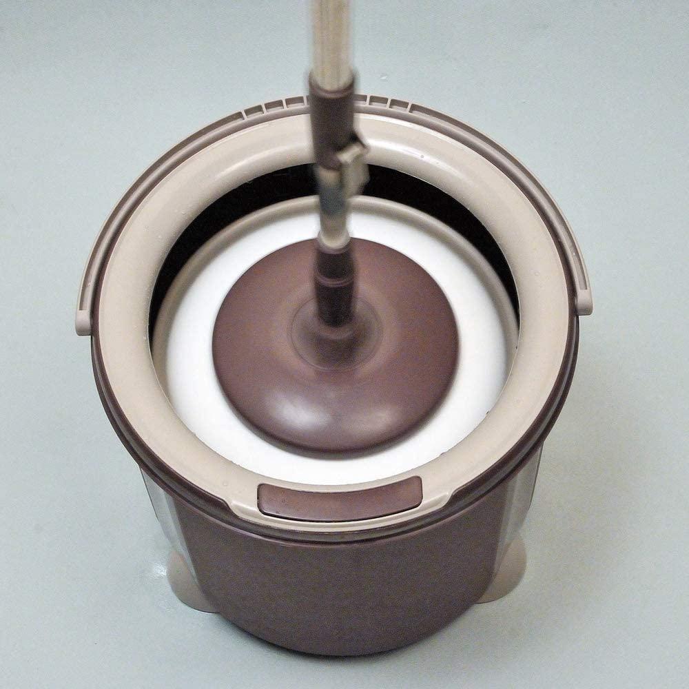 アズマ工業(アズマコウギョウ) トルネード回転モップ丸型セット TSM545の商品画像9