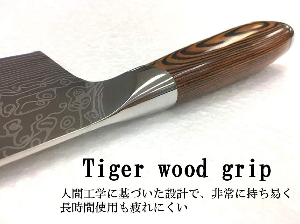 SAMURAI CUTLERY(サムライカトラリー) タイガーキッチンナイフ 30cmの商品画像4