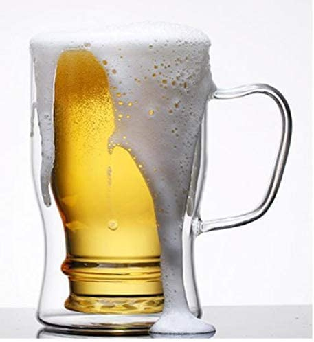 morningplace(モーニングプレイス) ビール ジョッキ  (350ml&550ml 2個セット)の商品画像2