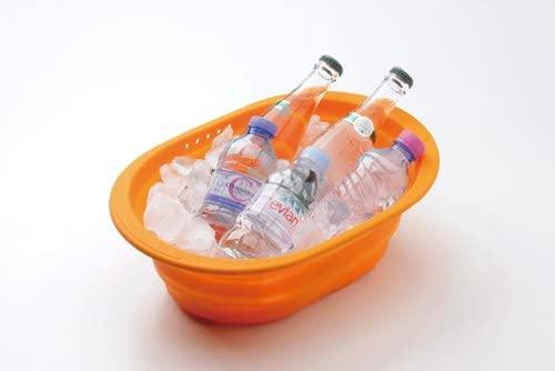 和平フレイズ(FREIZ) 洗い桶 スキッとシリコーン 。 SR-4883の商品画像5