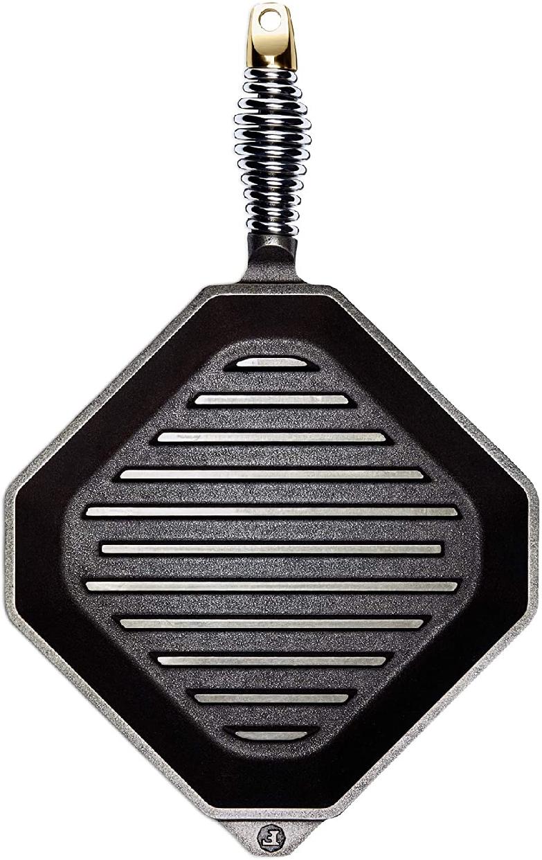 FINEX(フィネックス)キャストアイアン グリルパン(蓋無) 10インチ G10-10001の商品画像