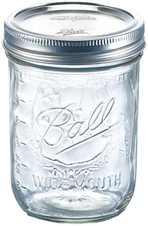 BALL(ボール)メイソンジャー ワイドマウス 500cc 48703の商品画像