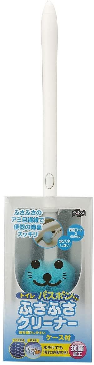 山崎産業(Yamazaki) トイレバスボンくん ふさふさクリーナー ケース付の商品画像2