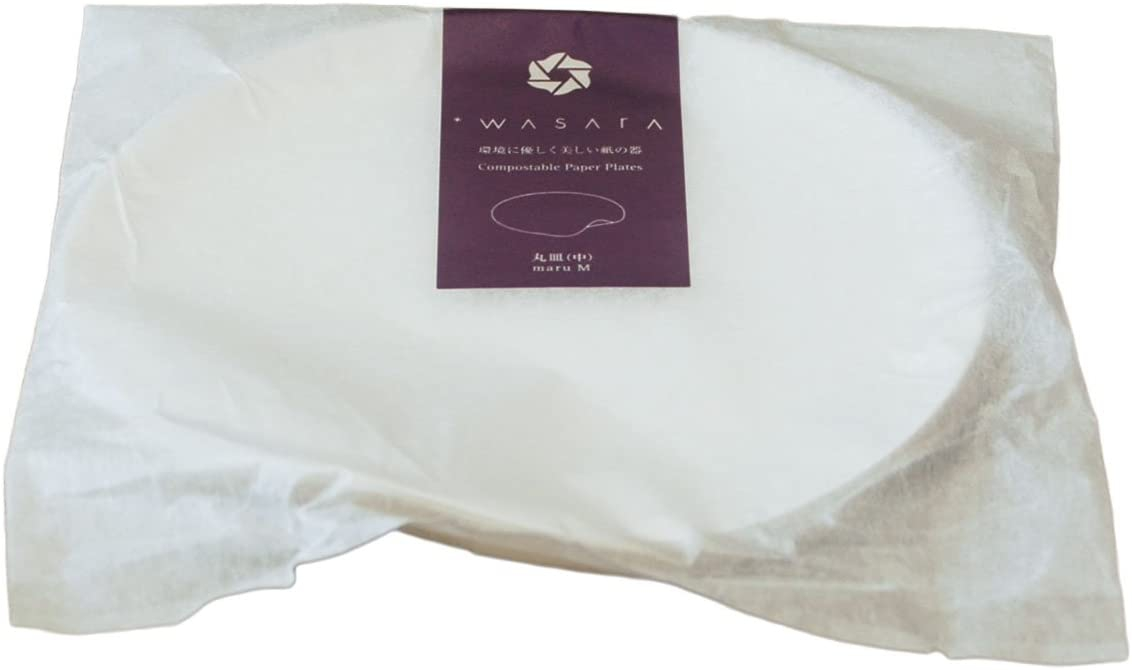WASARA(ワサラ) 丸皿(中)100枚入 16.5cmの商品画像