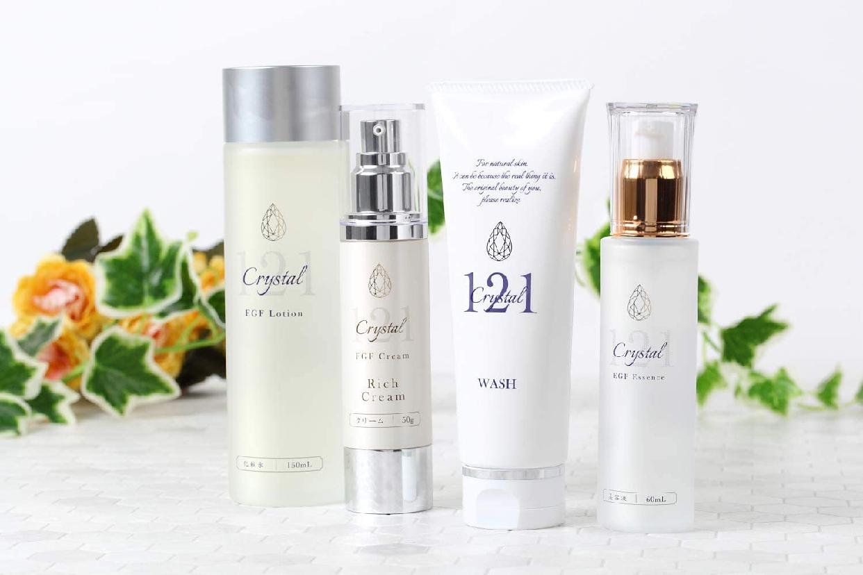 クリスタル121 高濃度 EGF 化粧水 ローションの商品画像5