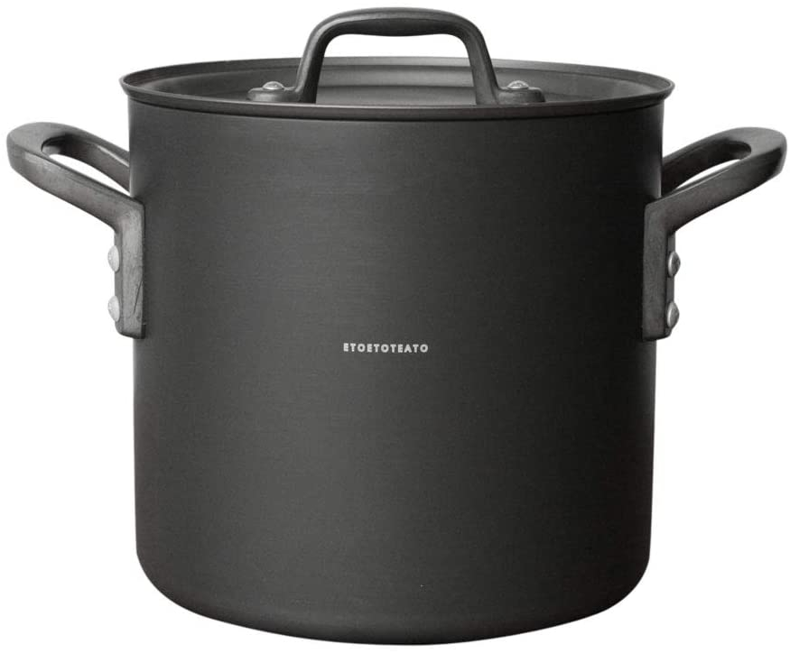 ETOETOTEATO(エトエトテアト) 寸胴鍋 ブラック×ブラック 4.3L ET014の商品画像