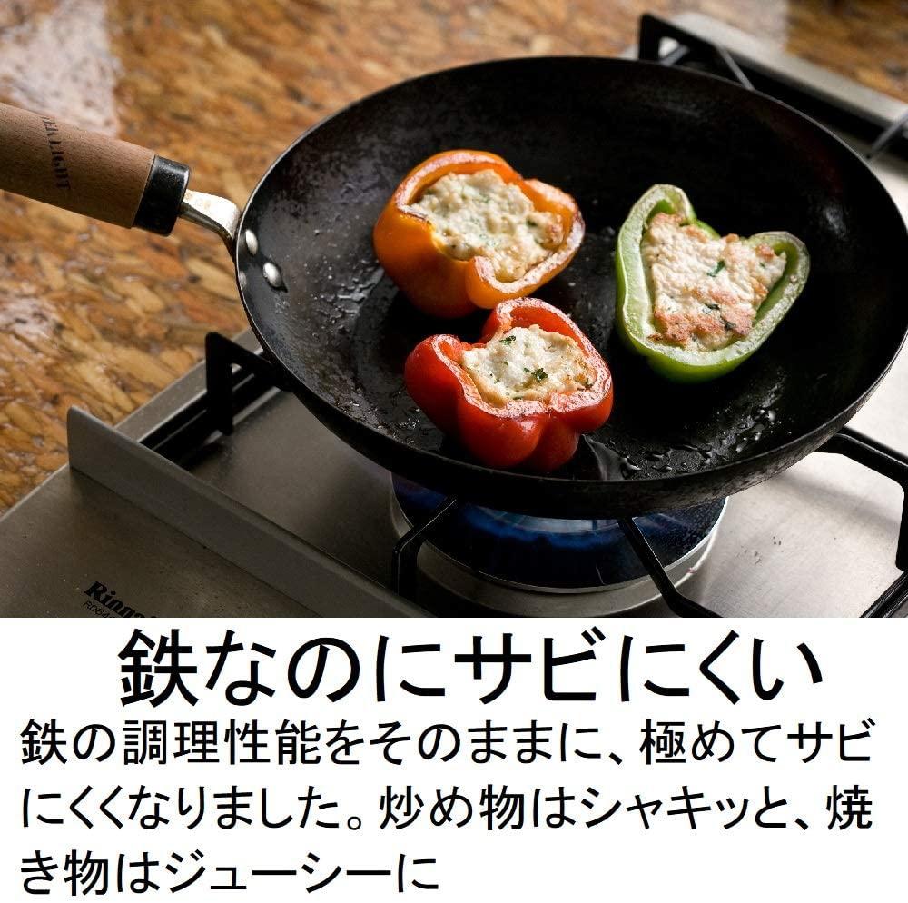 RIVER LIGHT(リバーライト) 極JAPAN IH対応 鉄製フライパンの商品画像2