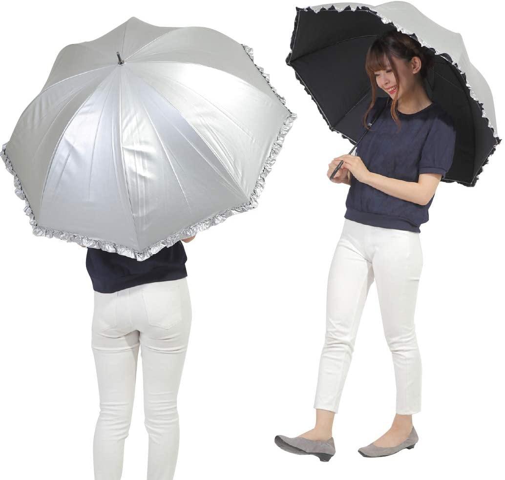 オカモト原宿店(オカモトはらじゅくてん) 晴雨兼用 日傘 ドーム型の商品画像7