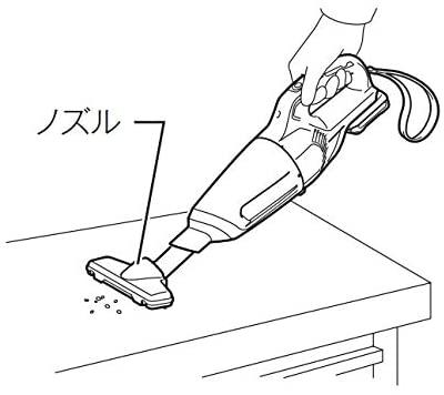 makita(マキタ) 充電式クリーナ CL108FDSHWの商品画像5