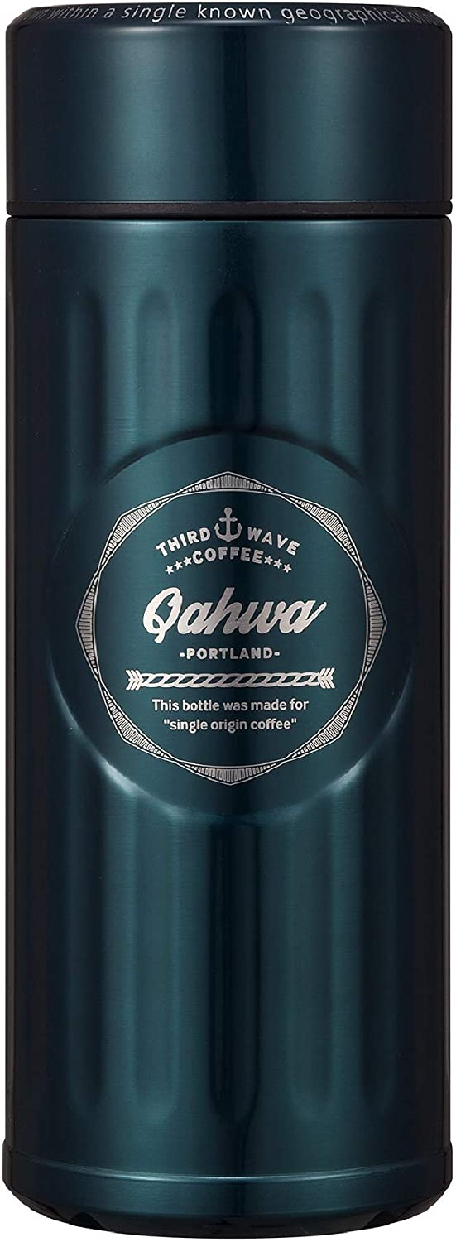 Qahwa(カフア) コーヒー ボトル 420ml ポートランドブルーの商品画像