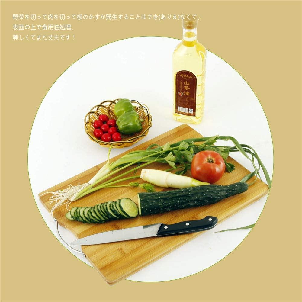 AKOZLIN 天然抗菌素材 竹製まな板 ブラウンの商品画像5