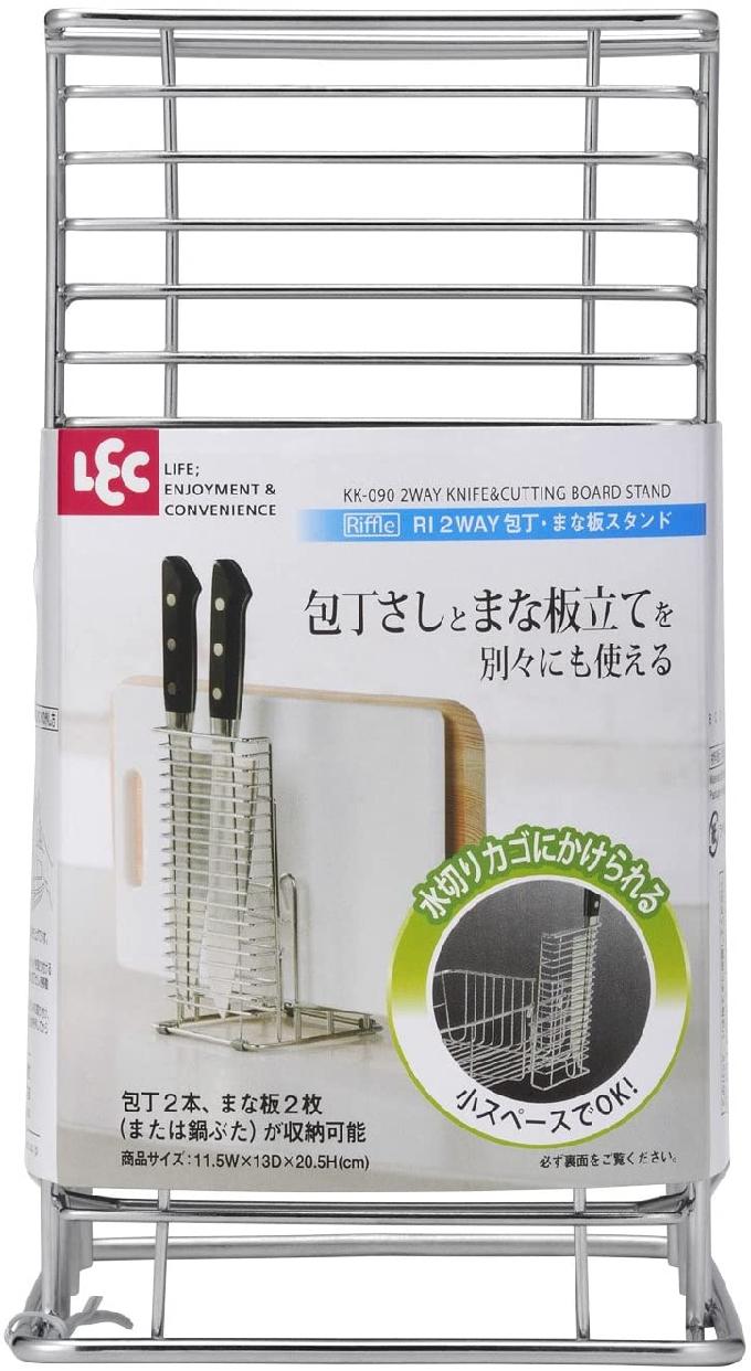 LEC(レック) Riffle 2WAY 包丁 ・ まな板 スタンド KK-090の商品画像7