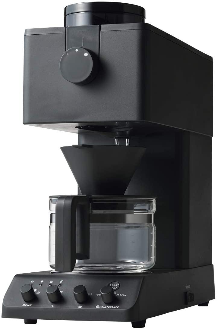 TWINBIRD(ツインバード)全自動コーヒーメーカー CM-D457Bの商品画像