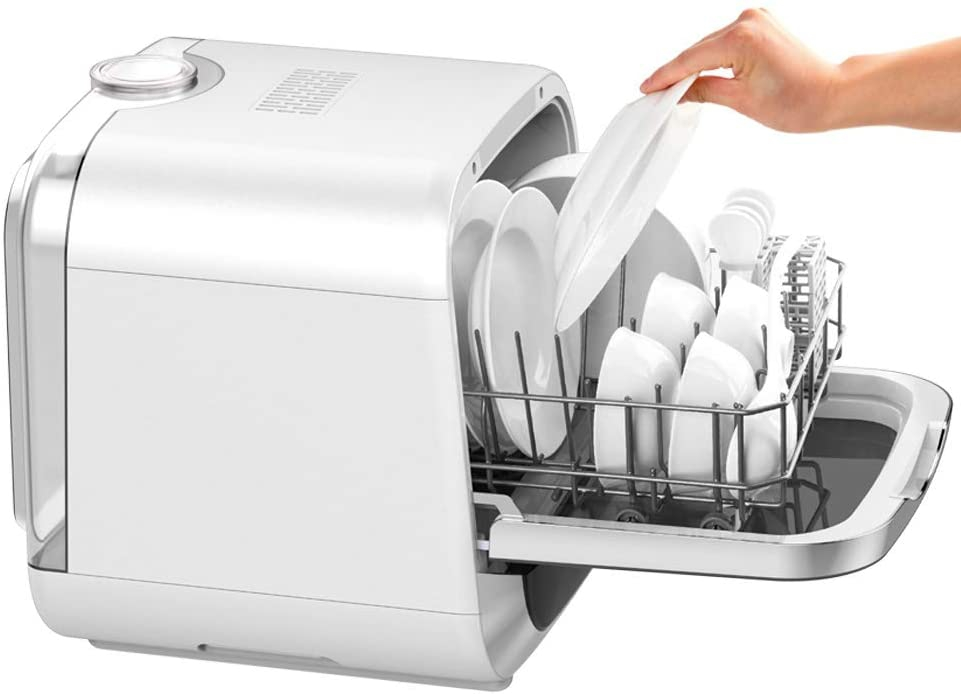 パレット 水道工事がいらない食器洗浄乾燥機 PLDW174WH ホワイトの商品画像2