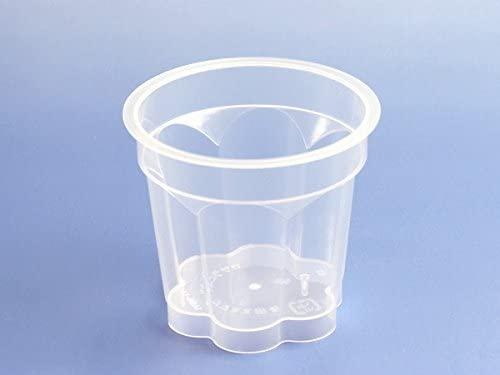 天満紙器(テンマシキ)プッチンつまみ付き プリンカップ M(透明) 100枚入 PP7190-100の商品画像