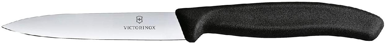 VICTORINOX(ビクトリノックス) スイスクラシック パーリングナイフ10cm 6.7703E BLACKの商品画像