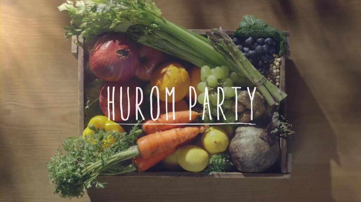 HUROM(ヒューロム) スロージューサー H2H スーペリアの商品画像9