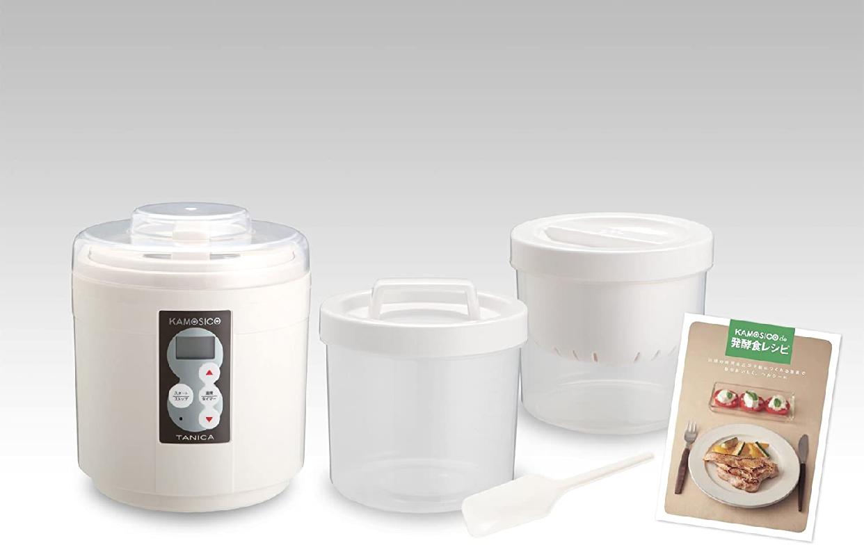 醸壷(カモシコ)発酵食メーカー  KS-12W アイボリーの商品画像6