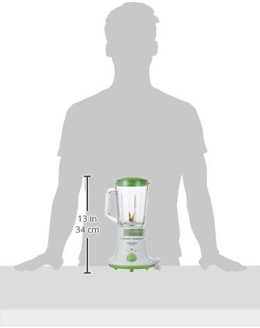 FUKAI(フカイ) ガラスボトルミキサー FJM-703GW ミル&ジュースミキサー グリーン&ホワイトの商品画像3