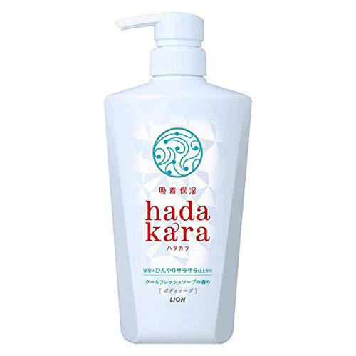 hadakara(ハダカラ) 泡ボディーソープ保湿+ひんやりの商品画像