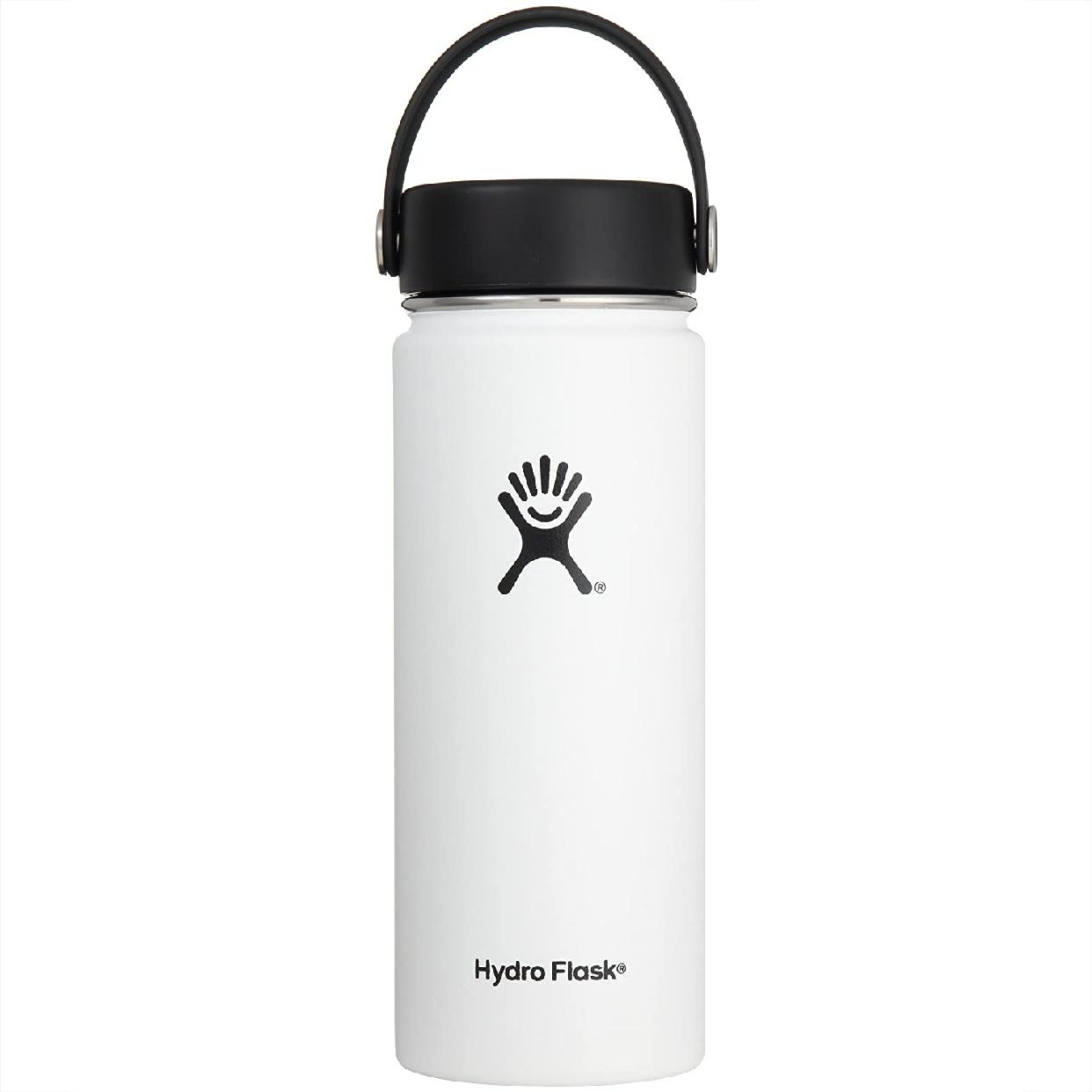 Hydro Flask(ハイドロフラスク) 18 oz Wide Mouth Whiteの商品画像