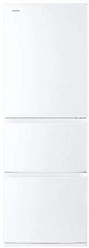東芝(TOSHIBA) ベジータ 3ドア冷蔵庫 (363L・右開き) グレインホワイト GR-R36S-WTの商品画像