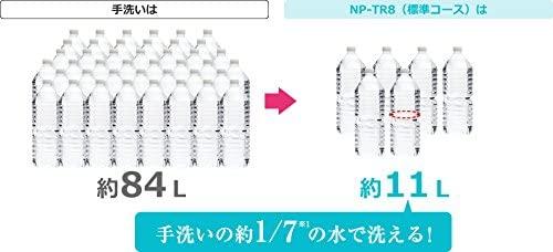 Panasonic(パナソニック) 食器洗い乾燥機 NP-TR8-W(ホワイト)の商品画像4
