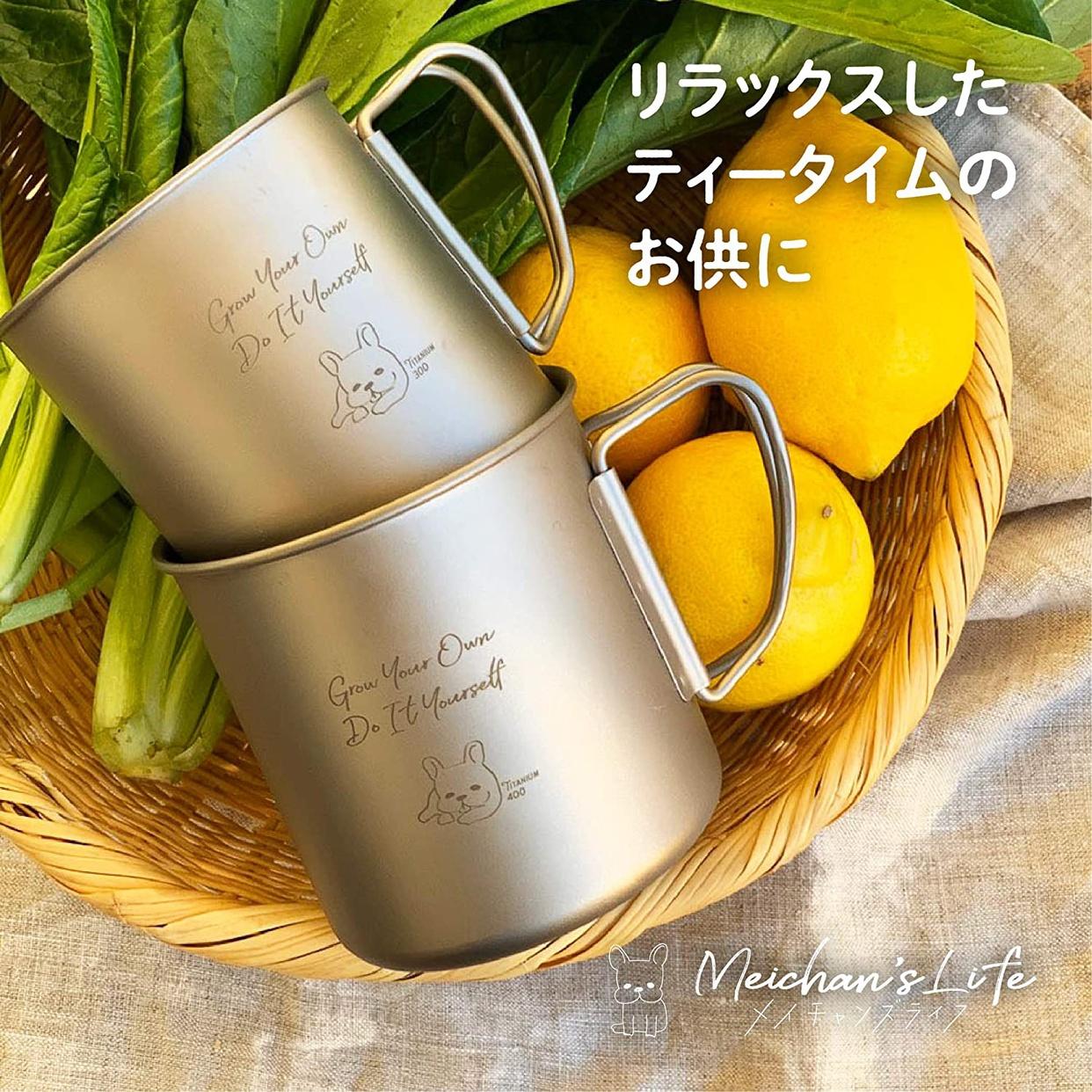 Meichan's Life(メイチャンズライフ) チタンマグの商品画像7