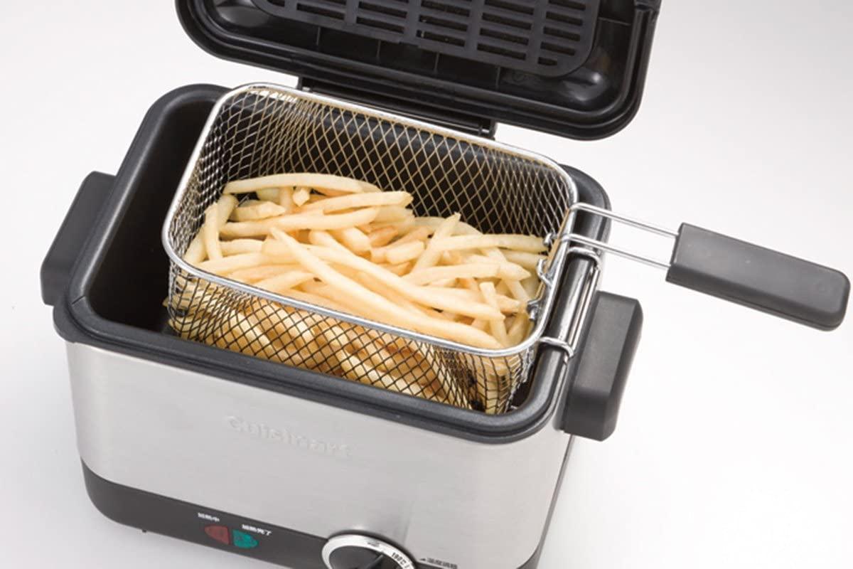 Cuisinart(クイジナート) 電気フライヤー CDF-100JBS シルバーの商品画像5