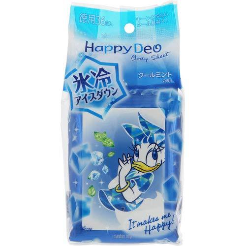 Happy Deo(ハッピーデオ) ボディシート 氷冷アイスダウンの商品画像