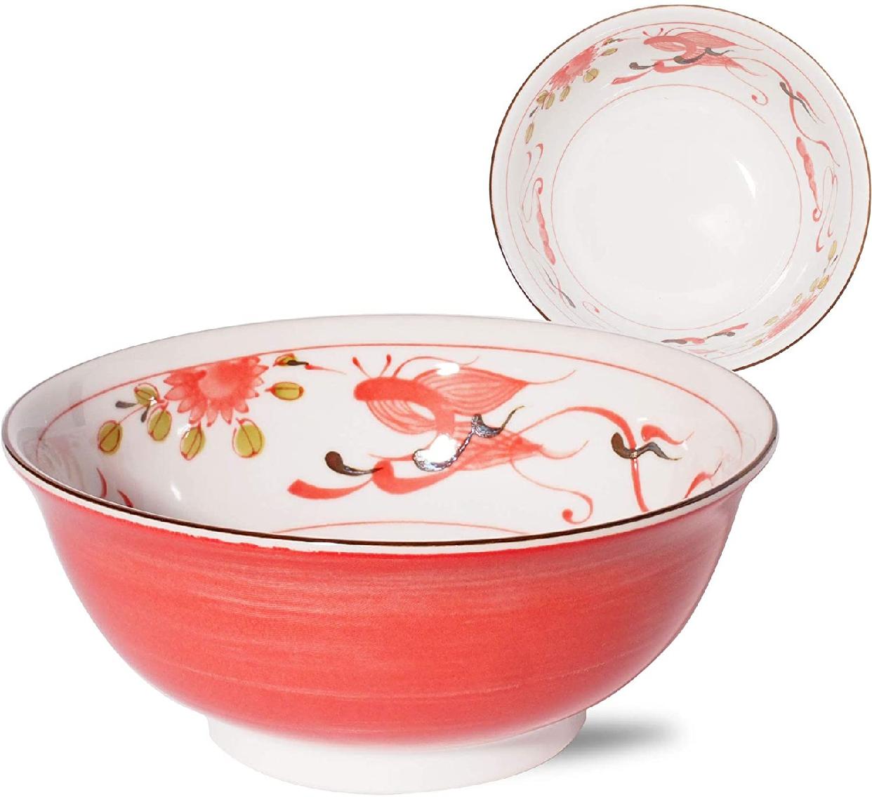 みのる陶器 赤巻ラーメン丼 6.3寸の商品画像2