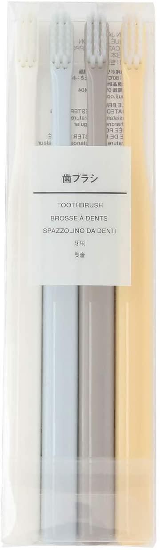 無印良品(むじるしりょうひん)歯ブラシ・4色セットの商品画像