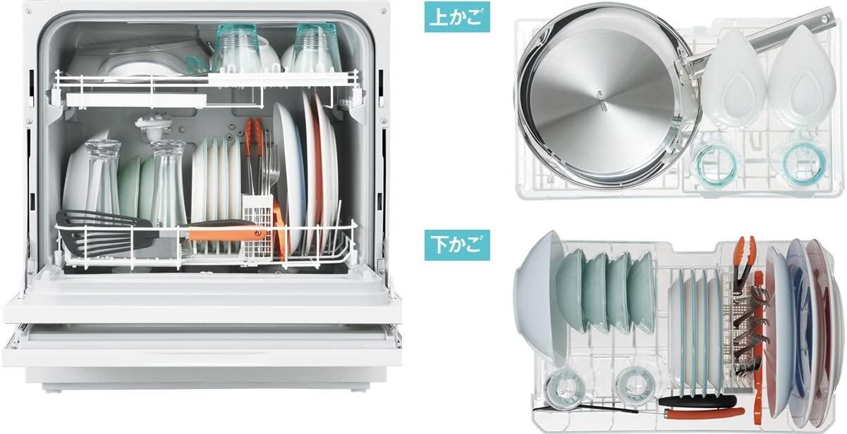 Panasonic(パナソニック) 食器洗い乾燥機 NP-TH1-W(ホワイト)の商品画像4