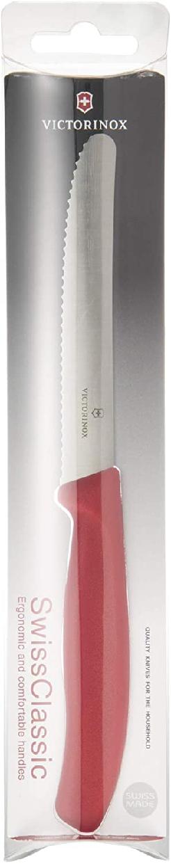 VICTORINOX(ビクトリノックス)スイスクラシック トマト&テーブルナイフ 6.7831 レッドの商品画像7