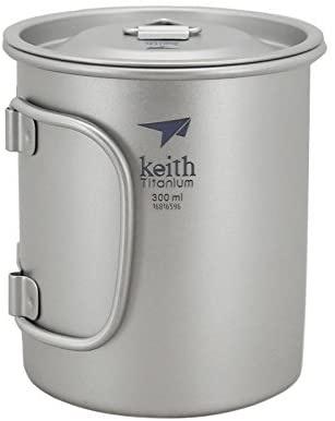 Keith(ケイス) チタンコップの商品画像