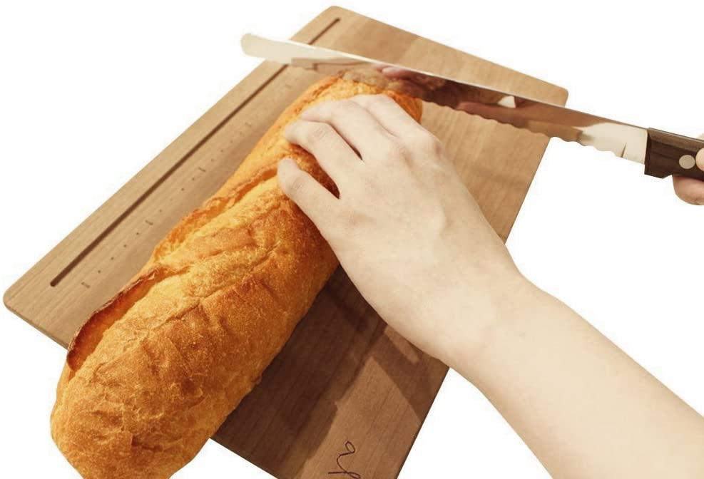 Kai House SELECT(カイハウスセレクト)焼きたてパンのためのパン切り AC-5011 シルバーの商品画像4