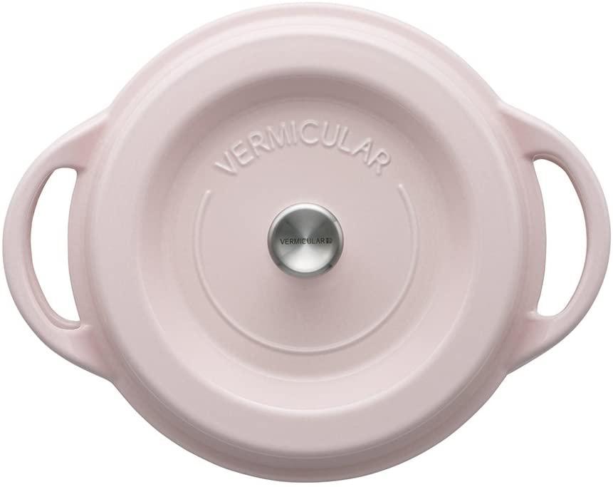VERMICULAR(バーミキュラ) オーブンポットラウンド22cm パールピンクの商品画像2