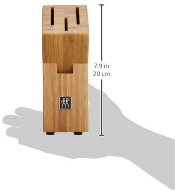 ZWILLING(ツヴィリング) ナイフブロック、ブロックセット 3本用 バンブー ナイフブロック ブラウン(35015-200-0)の商品画像3