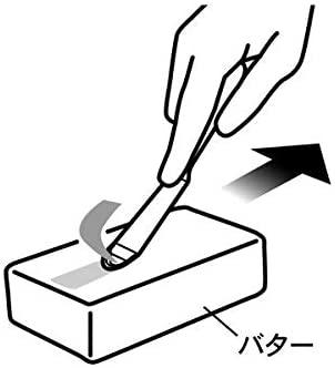 小久保工業所(コクボコウギョウショ)ピーラー式バターナイフ KK-272 白の商品画像7