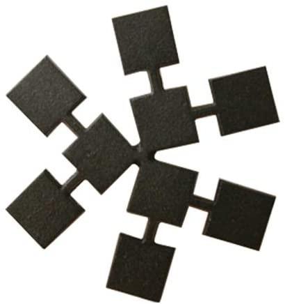 鋳心ノ工房 鍋敷・角寄せ Y-3 ブラックの商品画像