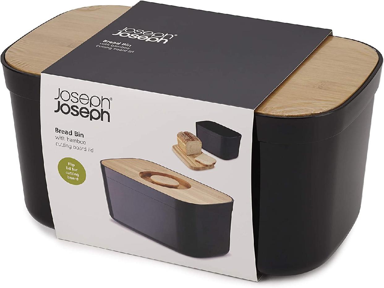 Joseph Joseph(ジョセフジョセフ) ブレッドケース ライト パン保存容器 ブラック 81103の商品画像5