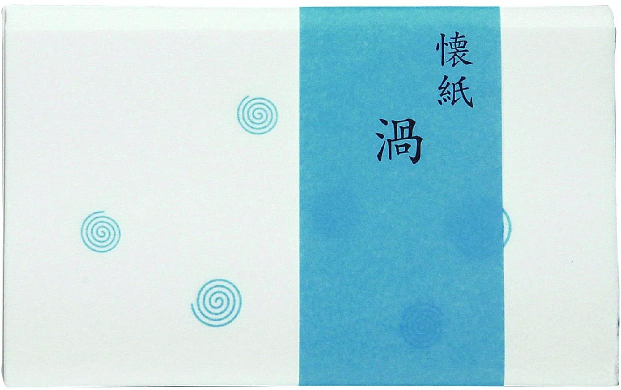 こころ懐紙本舗(ココロカイシホンポ) 渦 女性用サイズ 30枚の商品画像
