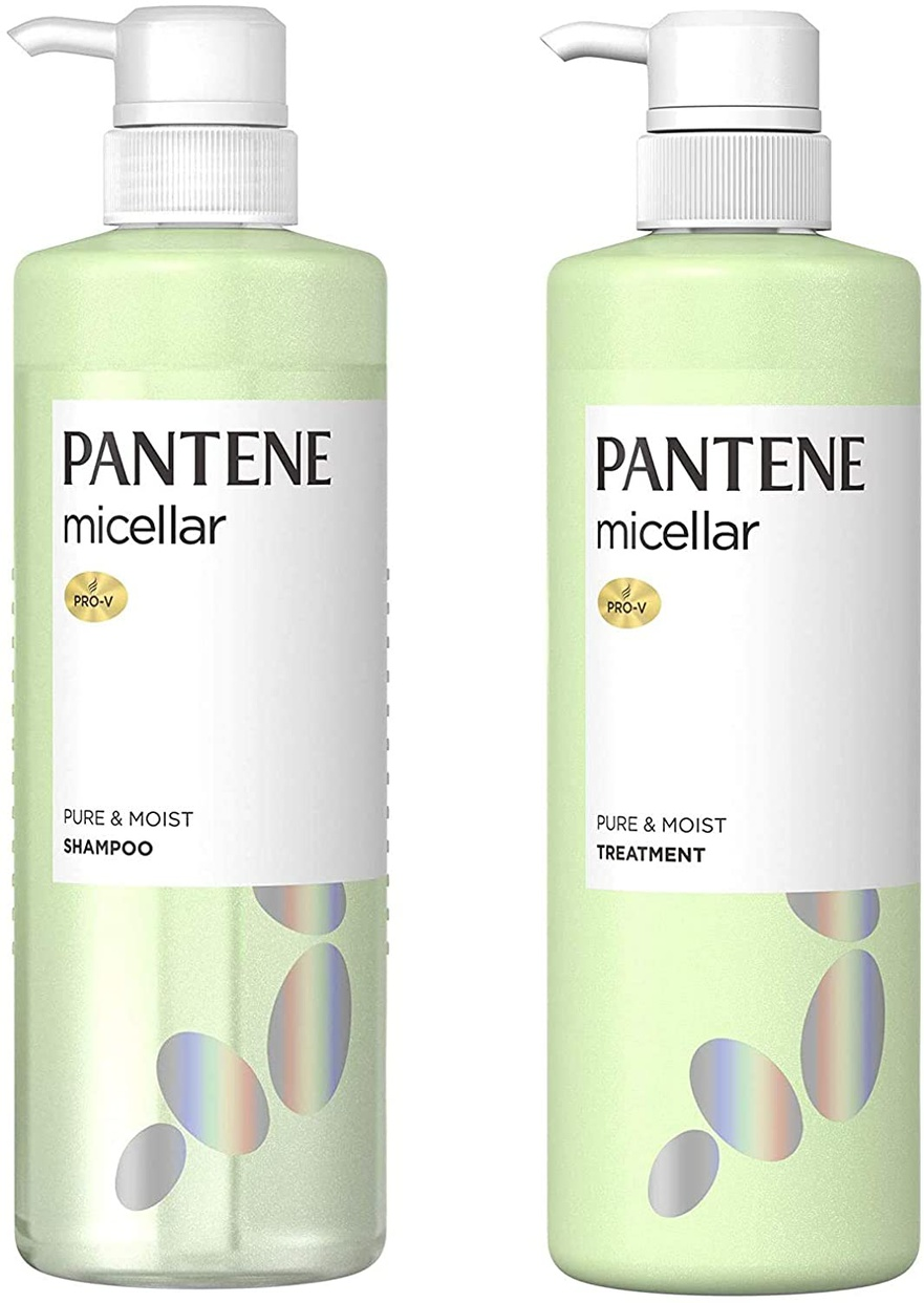 PANTENE(パンテーン)ミセラー  ピュア&モイスト  シャンプー&トリートメント