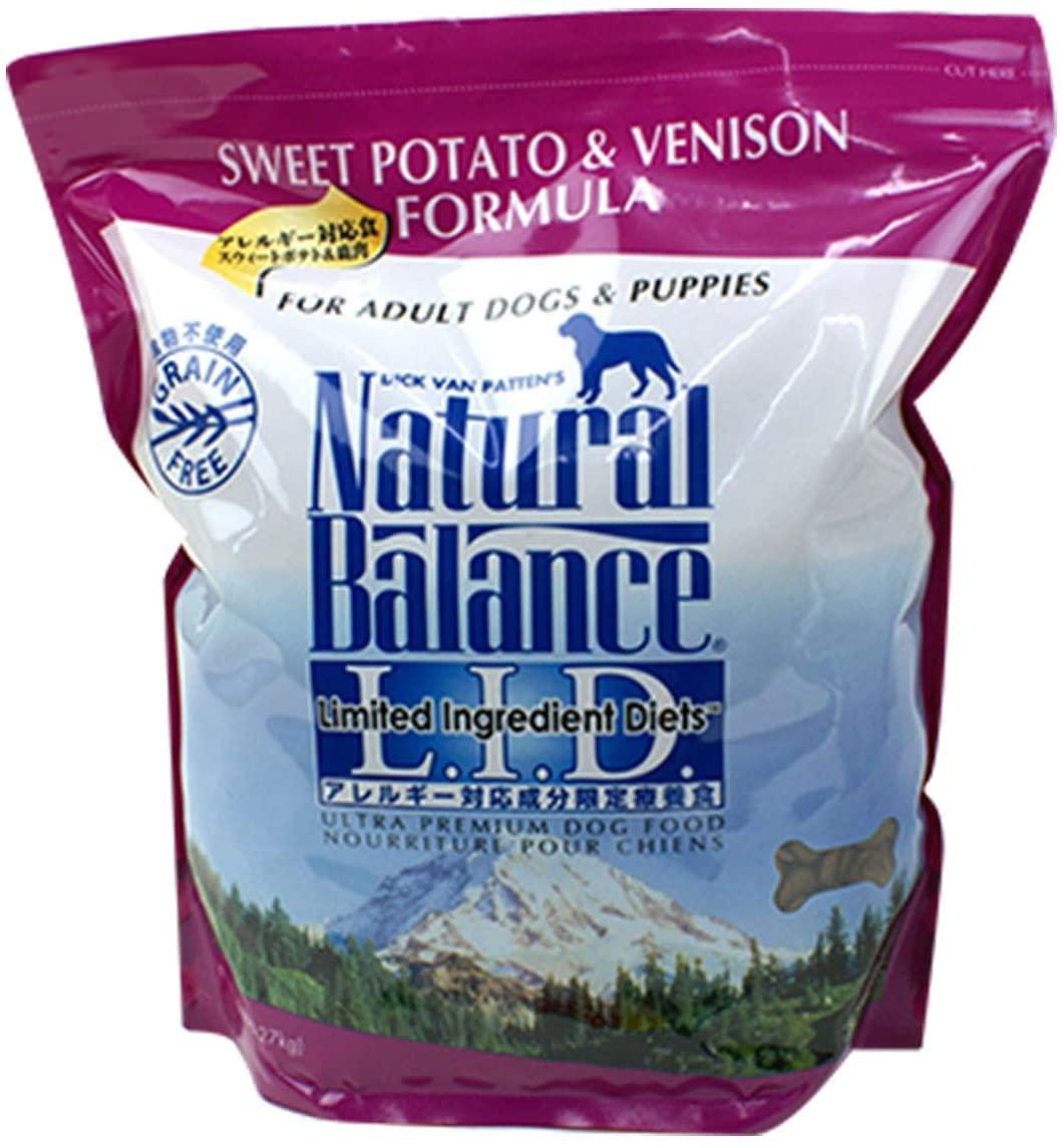 Natural Balance(ナチュラルバランス) ウルトラプレミアム スウィートポテト&ベニソンフォーミュラ ドライドッグフードの商品画像