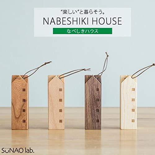 SUNAOLAB.(スナオラボ) HOUSE TRIVETS なべしきハウスの商品画像